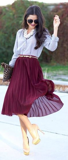 Great combination of fabrics and colors!