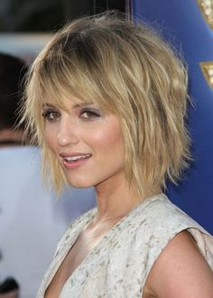 Znalezione obrazy dla zapytania short hair with fringe