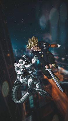 Dbz Wallpapers, Dragon Ball Image, Z Arts, Fanart, Dragon Ball Z Iphone Wallpaper, Dbz Memes, Trunks, Wallpaper Art, Wolverine