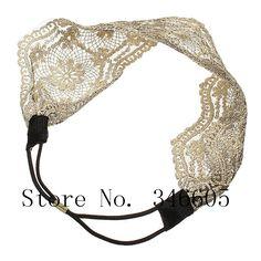 Oyedens Accesorios para el Pelo Encaje De Banda Para El Cabello Diadema Ancha Retra Turbantes Mujer Hair Accessories 52cm ~ 66cm