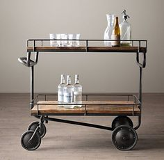 11 Handsome Bar Carts That Will Keep The Party Rolling — Shopping Guide