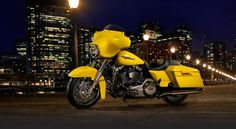 lit up lemon street glide