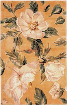 Kas Oriental Catalina Magnolia Gold Rug