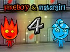 Friv10games: Fireboy and Water Girl 4 games in The Crystal Temp...