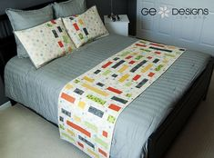 GE FFHome Brick House bed runner In the book Fast & Furious Home by GE Designs