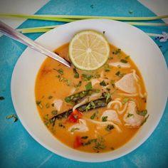 Tom Kha Gai oder die beste Suppe der Welt - Original Thai-Rezept.