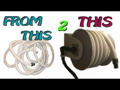 Homemade Vacuum Hose Reel - YouTube