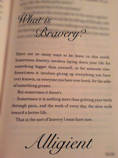 Alliegent quotes. I especially like this one.