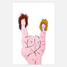 Hehe for all you metal rockers! ;). Print is available on fab.com