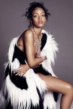 Rihanna for Elle Magazine #3