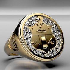Kappa Alpha Psi Ring Sacred 3, Kappa Alpha Psi Fraternity, Alpha Phi Alpha, Kappa Clothing, Workshop Bench, Divine Nine, African Men Fashion, Greek Life, Diamond Are A Girls Best Friend