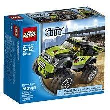 De LEGO CITY monstertruck, rij over de wildste terreinen en verwoest alles waar je overheen rijd!  http://www.planethappy.nl/lego-city-monstertruck-60055.html