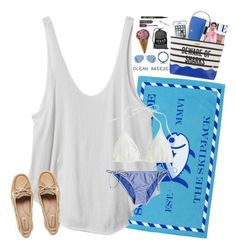 """""""I was fishin' he was wishin' we were kissin', I was getting madder than a hornet in an old coke can..."""" by hopemarlee ❤ liked on Polyvore featuring Southern Tide, Tory Burch, RVCA, Bobbi Brown Cosmetics, Sperry, Stila, Victoria's Secret, LifeProof, Kate Spade and J.Crew"""