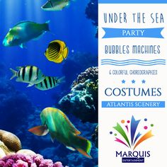 Love the Sea? Have an Under the Sea themed party!