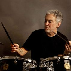 "The man hisself, Steve Gadd. I'm still amazed by his ""50 Ways to Leave Your Lover"" beat -- so complex but so simple, and so in the groove."