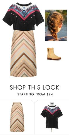 """""""Untitled #180"""" by deanamorris on Polyvore featuring Valentino and Frye"""