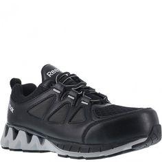 RB301 Reebok Women s ZIG Comp Toe Safety Shoes - Black Grey www.bootbay. fb5297713