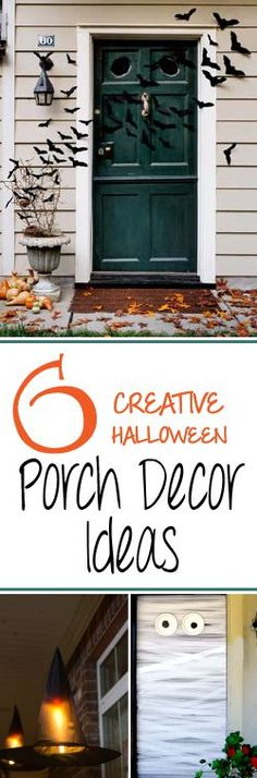 Decorate your door this year to bring on a magic feel!  These are great simple ideas!
