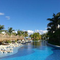 Anyone feels like having a dip?! Today's a #beautiful #Caribbean day at #playamujeres #nofilter