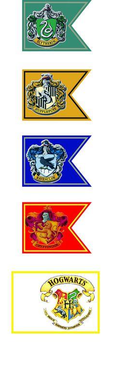 hogwarts house flags   Flickr - Photo Sharing!