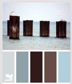Bathroom color palette