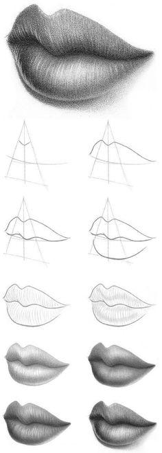 #boca #desenho #desenhar