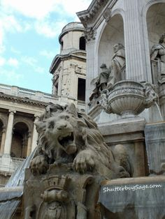 St. Sulpice Fountain  Paris, France