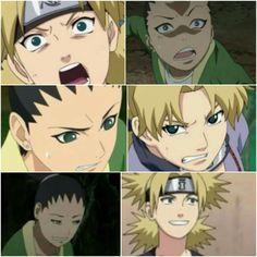 Shikadai's face expression just like his mom