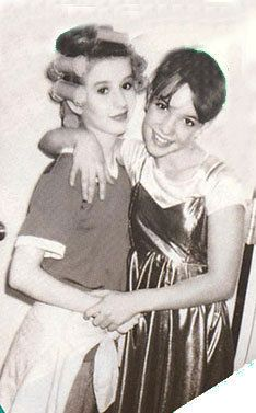 Britney Spears and Christina Aguilera back then ...
