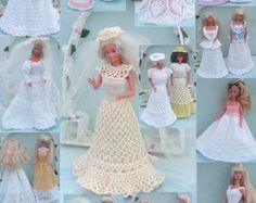 Crochet Fashion Doll Barbie Pattern 433 by JudysDollPatterns