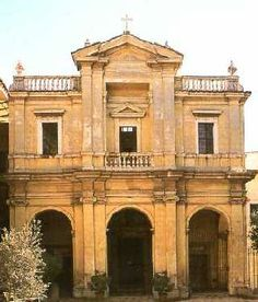 Gian Lorenzo Bernini. Santa Bibiana, Roma (1624-26). Fachada.