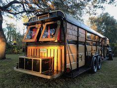 Steampunk Converted Horse Trailer