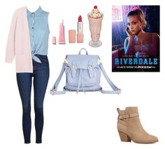 """RIVERDALE: BETTY COOPER"" by twyzter ❤ liked on Polyvore featuring Paul & Joe, Topshop, Witchery and By Malene Birger"
