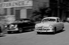 One of the most famous chase scenes of all time: Robert Mitchum and his hot-rod 1950 Ford smoke the feds, who can't keep up in their 1957 Chevy.