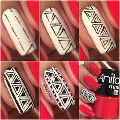 Aquí encontraréis dos tutoriales para crear vuestra propia manicura de art nails. Nos lo cuenta MANOS LINDAS.
