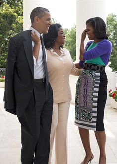 The Obama's and Ms O