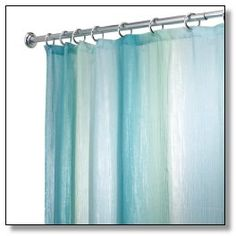 InterDesign Ombre Print Shower Curtain