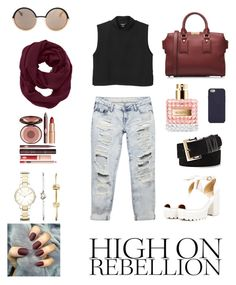 """""""Street Fashion 2015"""" by salsabilaaa25 on Polyvore featuring Wet Seal, Monki, Burberry, Marc by Marc Jacobs, Tory Burch, Athleta, FOSSIL, Vince Camuto, Charlotte Tilbury and StreetStyle"""