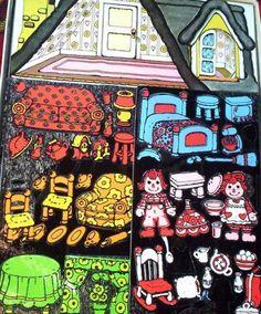 ... Colorforms Raggedy Ann Doll