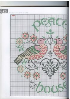 Gallery.ru / Фото #21 - Barbara Hammet - The art of William Morris in cross stitch - tymannost