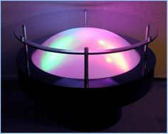 Designing The Simple Light Table - http://www.dailywomanmag.com/wedding-ideas/designing-the-simple-light-table.html
