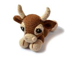 Cow Amigurumi Crochet Pattern PDF Instant Download