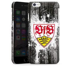 VfB Stuttgart Splash für Premium Case (glänzend) für Apple iPhone 6 von DeinDesign™