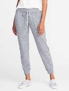 Mid-Rise Sweater-Knit Joggers for Women  | Old Navy