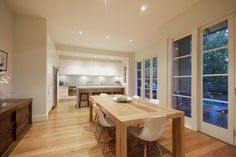 Malvern East Residence: Alterations and Additions - contemporary - Dining Room - Melbourne - West Valentine Design