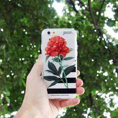 Cases boas acontecem! {case: flor listrada}  [DISPONÍVEL PARA TODOS OS IPHONES GALAXY E MOTO G]  #gocasebr #instagood #iphonecase #coisasboasacontecem #flower #minhagocase