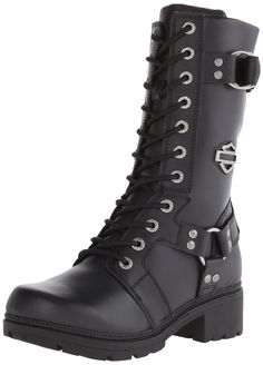 Harley-Davidson Women's Eda Boot >>> For more information, visit image link.