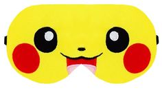 Pokemon Go Pikachu Sleep Eye Mask Masks Sleeping Night Blindfold Travel kit kits Eyes cover covers patch wear Slumber Eyewear Accessory Gift by venderstore on Etsy