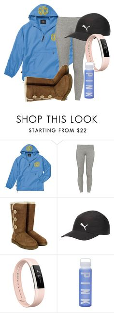 """""""Untitled #317"""" by gogirl-i ❤ liked on Polyvore featuring TNA, UGG Australia, Puma, Fitbit and Victoria's Secret"""