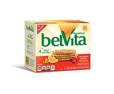 Start your day right with wholesome belVita Breakfast Biscuits. These lightly sweet crunchy biscuits are made with high-quality wholesome ingredients. Cooked carefully to provide the most nutritious...